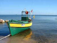 Morze, Zatoka Gdańska, statki wpłaywające do portów, ruch statków