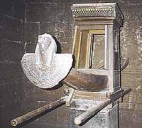 Kopia barki z Edfu