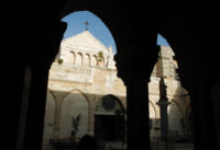 Kosci� nad gort� w Betlejem