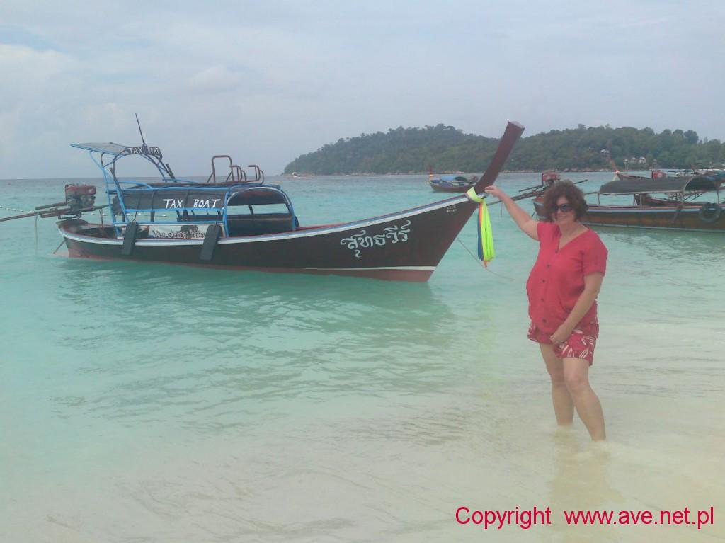 Koh Lipe longboat