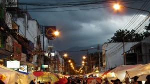 ChiangMai deszczowo