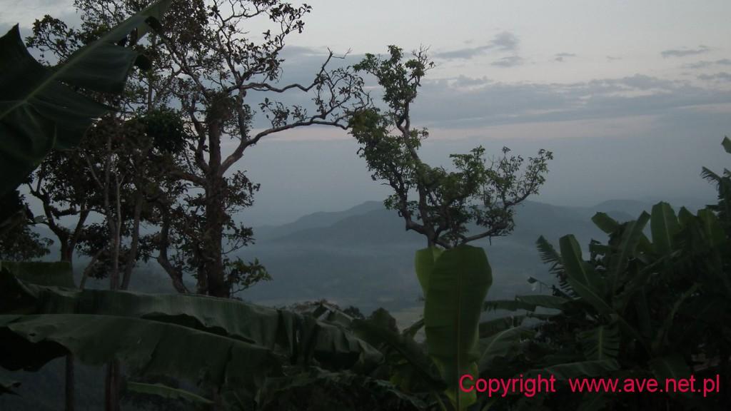 wysoko w górach
