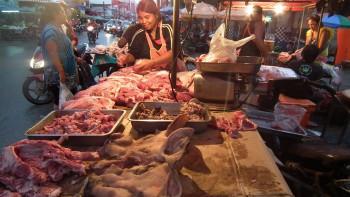Mięso ze straganu