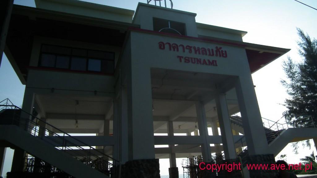 Platforma ratunkowa przed tsunami
