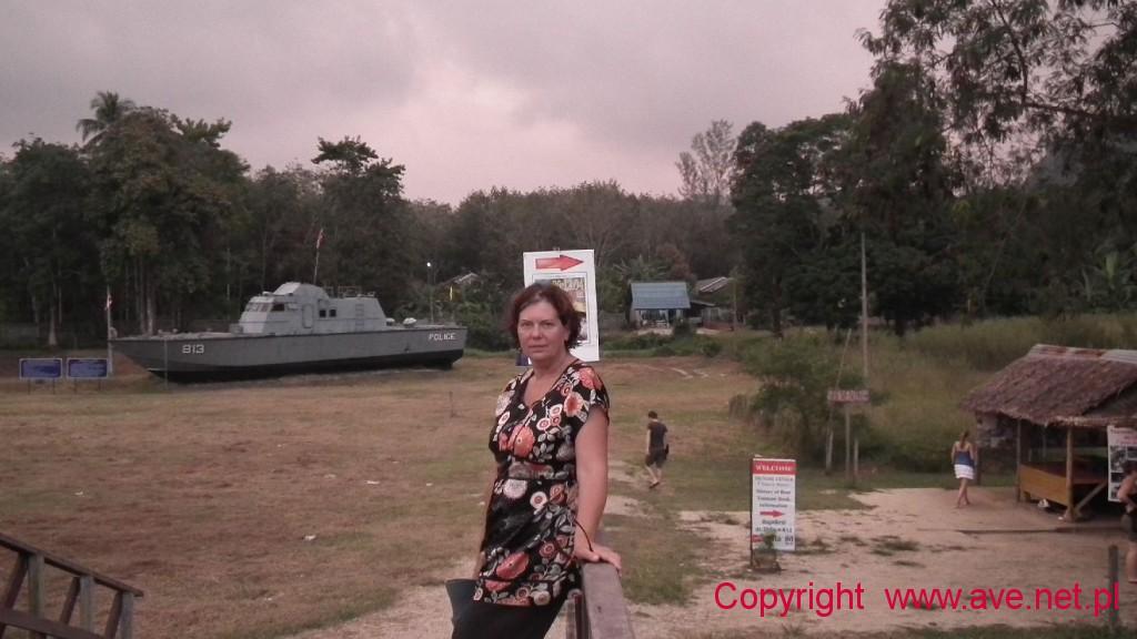 Muzeum Tsunami - Police Boat 813