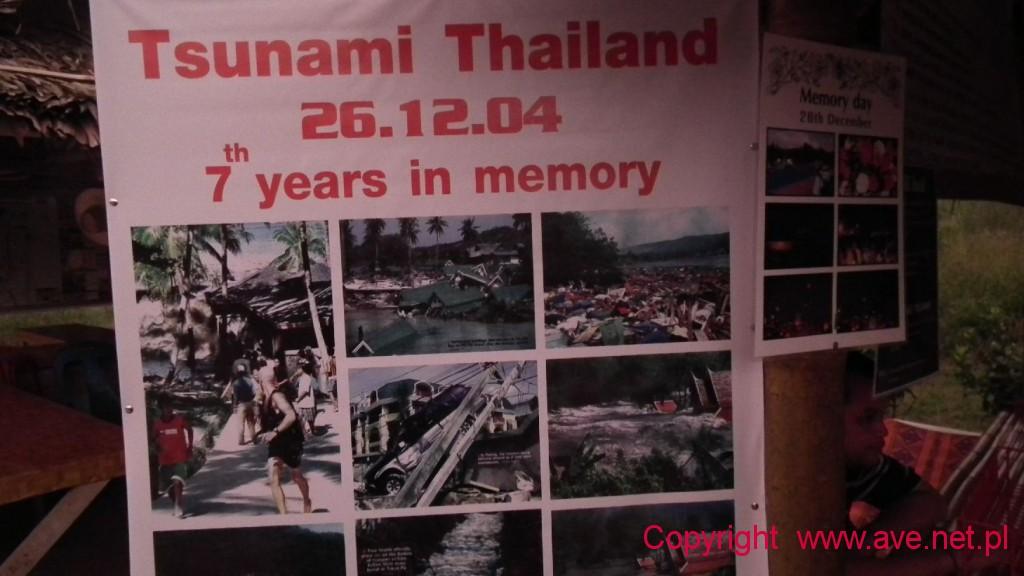 W Khao Lak po tsunami 2004 roku nie było rodziny, która by kogoś nie straciła.