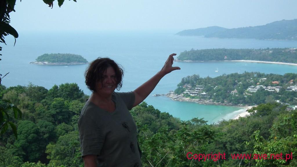 Punkt widokowy na końcu wyspy