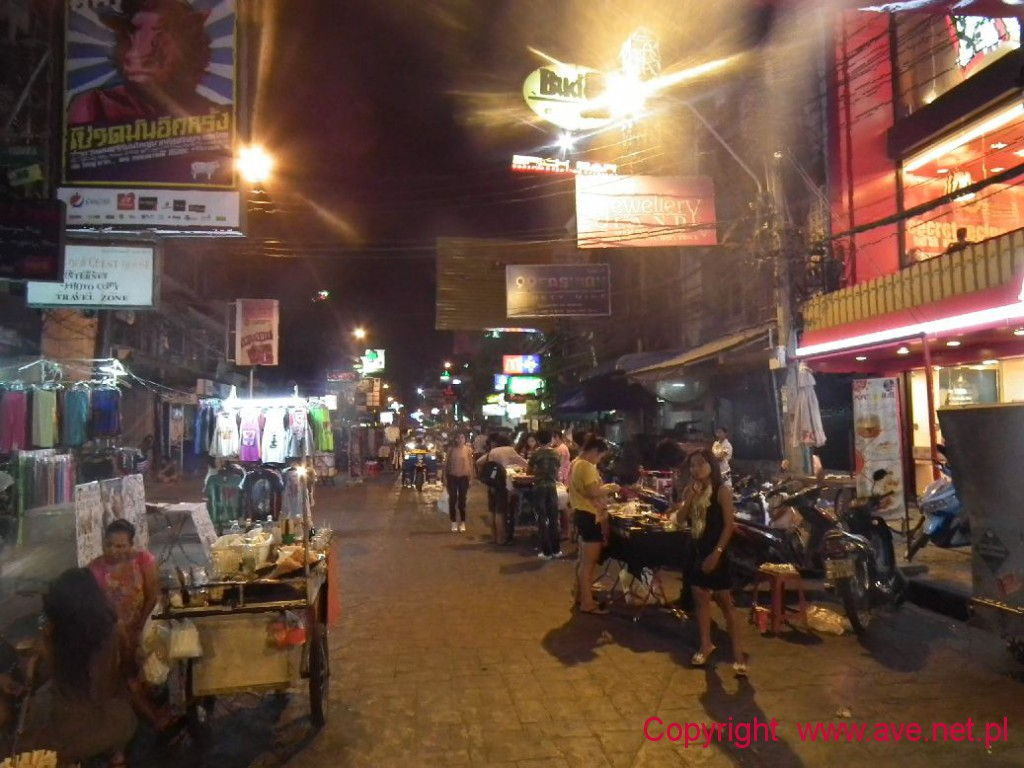 Khao San Road Nightlife
