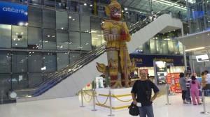 Na lotnisku w Bangkoku